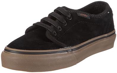 94d170c724 Vans Toddler 106 Vulcanized Fleece Black Dark Gum Fashion Sports Skate Shoe  Vkv4L7X 5 Child