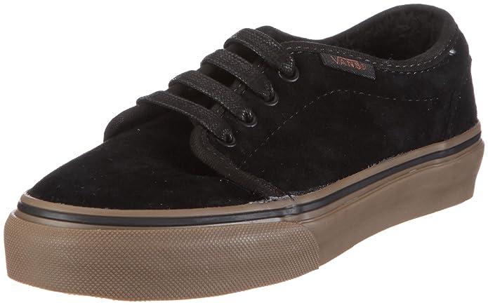 4ee218ca53 Vans Toddler 106 Vulcanized Fleece Black Dark Gum Fashion Sports Skate Shoe  Vkv4L7X 5 Child Uk  Amazon.co.uk  Shoes   Bags