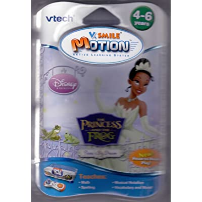 V.Smile Motion-Princess & Frog: Toys & Games