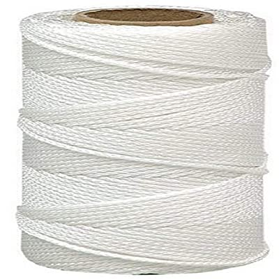 Lehigh Group NST1514HD Nylon Seine Mason Line Twine, 325', White: Home Improvement