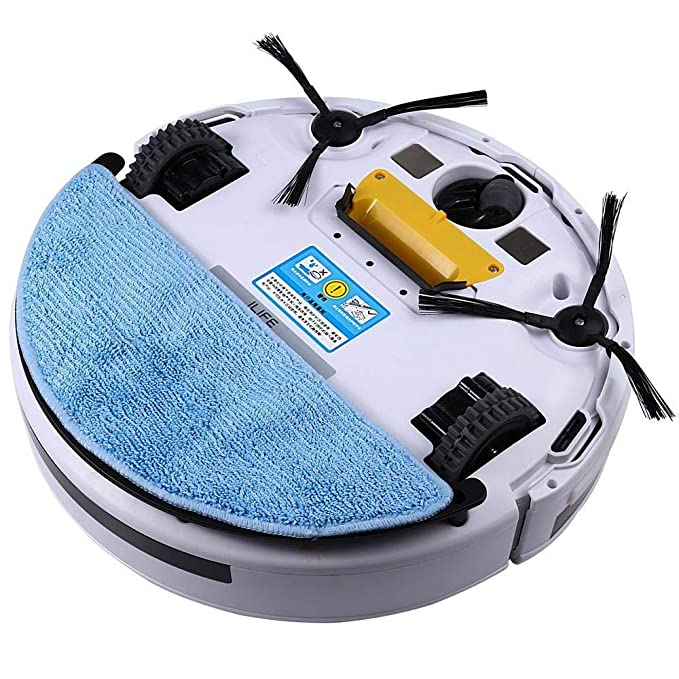 Amazon.com: YIGEYI ILIFE V5 Intelligent Robotic Vacuum Cleaner LCD Touch Screen Self-Charge RC Robot Aspirador The Perfect one for You (Size : EU Plug): ...