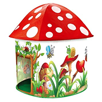 Childrens Kids Play Tent - Toadstool design by Inside Out Toys®  sc 1 st  Amazon UK : childrens play tents uk - memphite.com