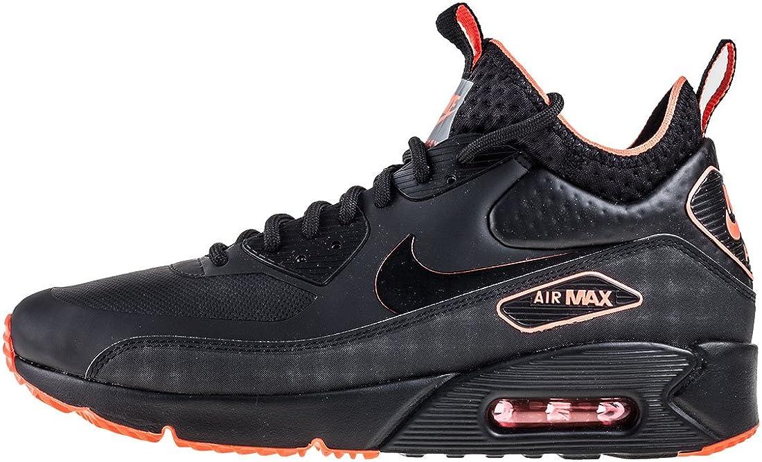 Nike Air Max 90 Ultra Mid SE Herren Schuhe Schwarz Sneaker Fashion Turnschuhe