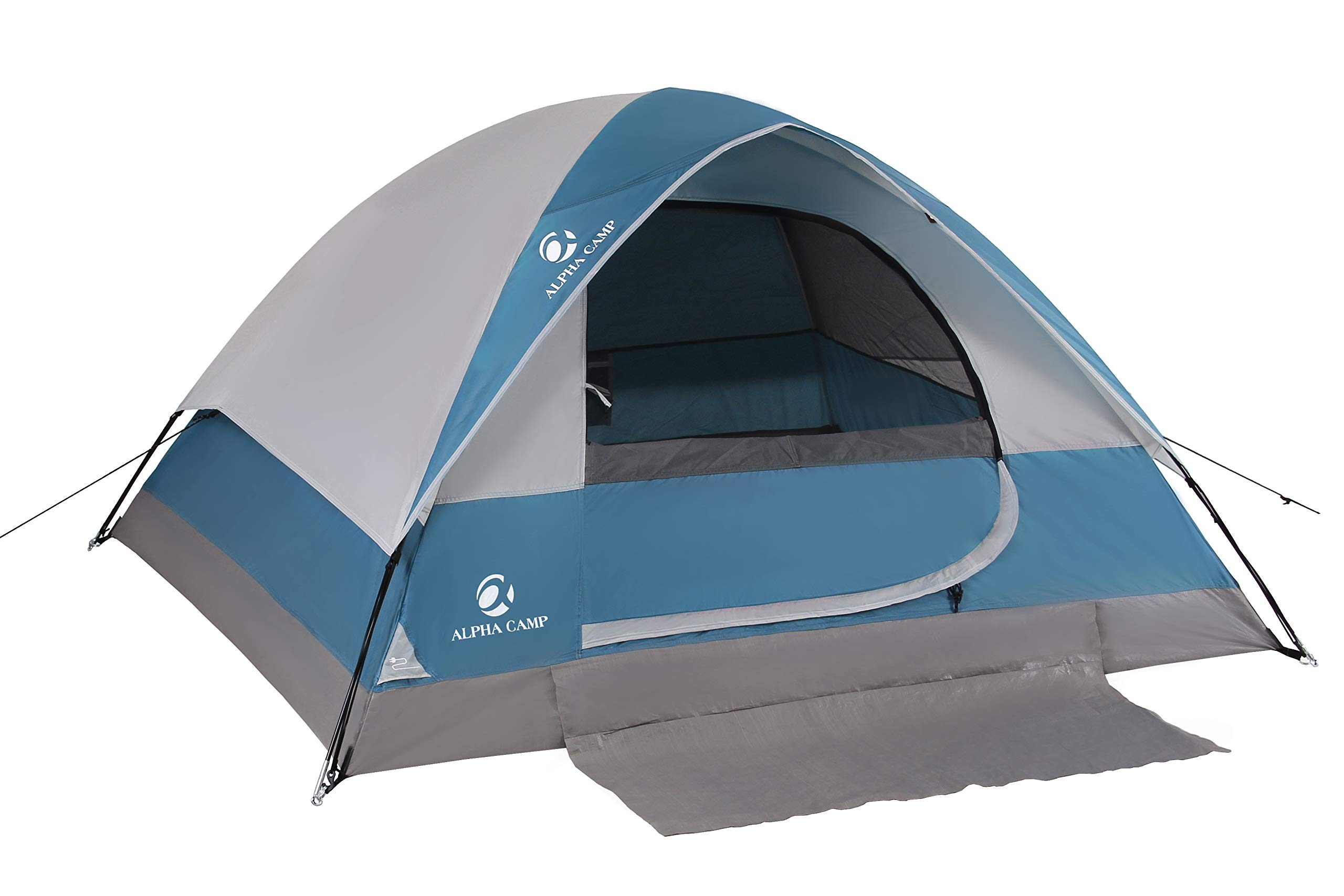 ALPHA-CAMP-Dome-Tent-for-Camping-Easy-Setup-Tent-with-Foot-Mat