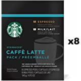 Starbucks Caffe Latte Verismo Pods (128 Pods, 64 Servings)