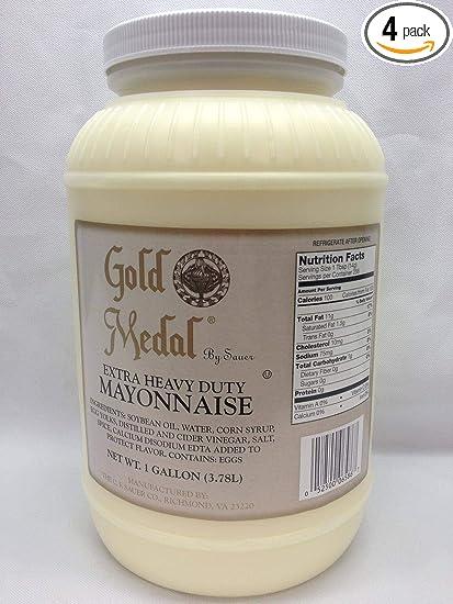 Amazon.com : C.F. Sauer Foods Extra Heavy Duty Mayonnaise, 1 ...