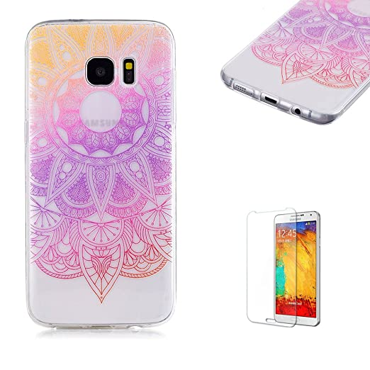 3 opinioni per Cover Per Samsung Galaxy S7 Edge,Funyye Graduale Cambiano Colore Trasparente