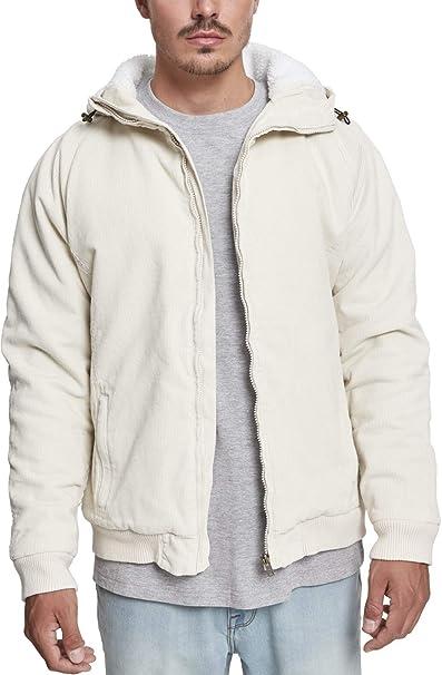 Urban Classics Hooded Corduroy Jacket Chaqueta para Hombre ...