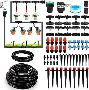 Garden Watering Irrigation System,100ft 3/8