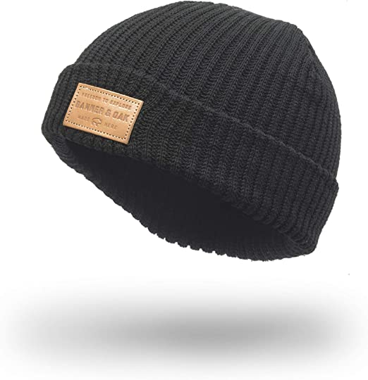 summit knit beanie hat w debossed leather patch winter solid color warm knit ski skull cap black at amazon men s clothing store summit knit beanie hat w debossed leather patch winter solid color warm knit ski skull cap black