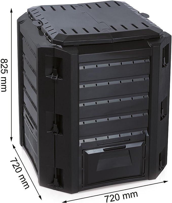 Prosperplast Thermo Bio - Compostador (plástico, 380 L, resistente ...
