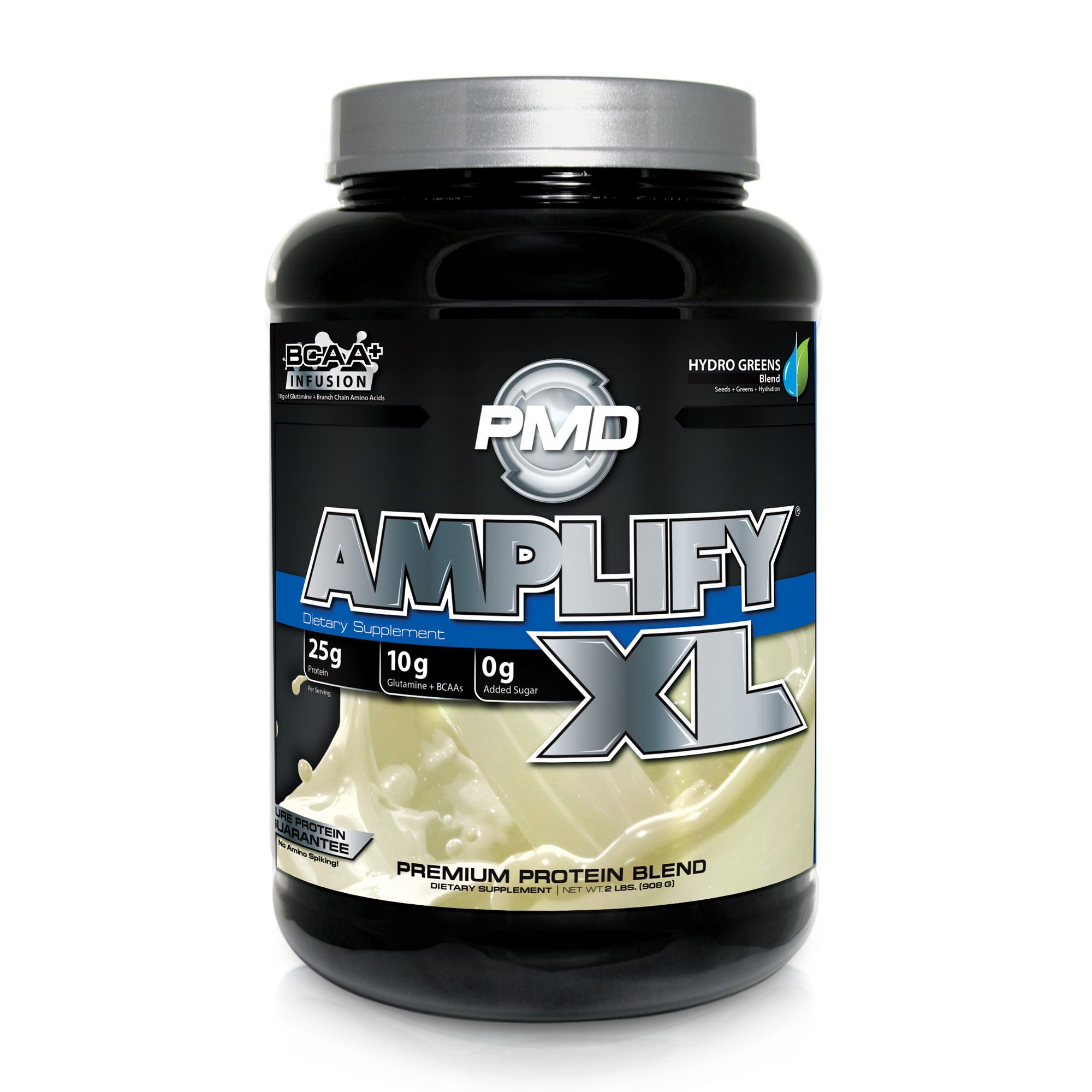 a486bdbe9 PMD Sports Amplify XL Superior Protein Supplement - Glutamine and Whey  Protein Matrix with Superfood for