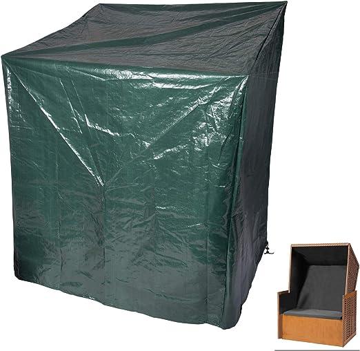 Laneetal Funda para Muebles de Jardín para Mesa Muebles etc Impermeable Protección contra Lluvia, Sol y Polvo, PE 135-165x125x90cm Verde: Amazon.es: Jardín