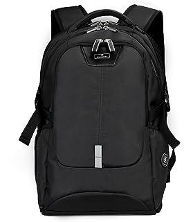 Silmarils 17 Inch Tsa Friendly Scansmart Laptop Backpack Waterproof Black Blue