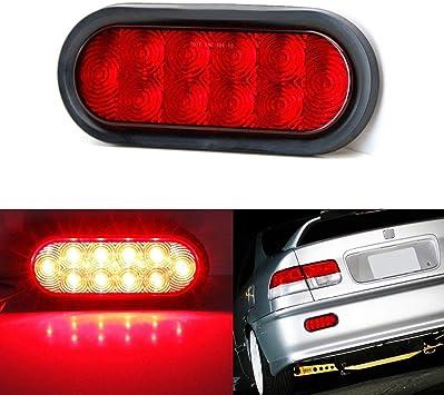 Powered by Super Bright LED Lights iJDMTOY JDM Style Red Lens LED Backup Reverse Light For Acura Honda Nissan Mazda Subaru Toyota etc 10