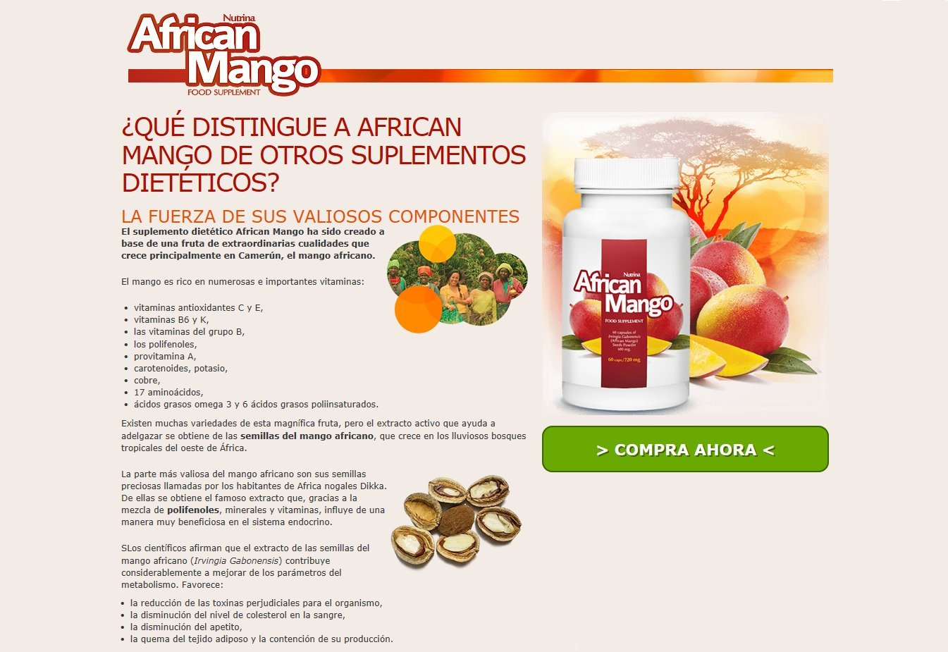 ✅AFRICAN MANGO Premium: quema grasa eficaz, quemadores de grasa, supresores del apetito, adelgazar rápido, saludable y desintoxicante, paquete básico 60 ...