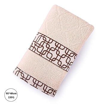 Toalla GAOLILI algodón sólido Deportivo Forma geométrica Forma Fitness Correr más Suave Agua de absorción Suave 2 (Color : B): Amazon.es: Hogar