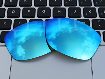 a137715a99 Amazon.com  COLOR STAY LENSES 2.0mm Thickness Polarized Replacement Lenses  for Oakley Cohort OO9301 Sunglasses Blue Mirror Coatings  Sports   Outdoors