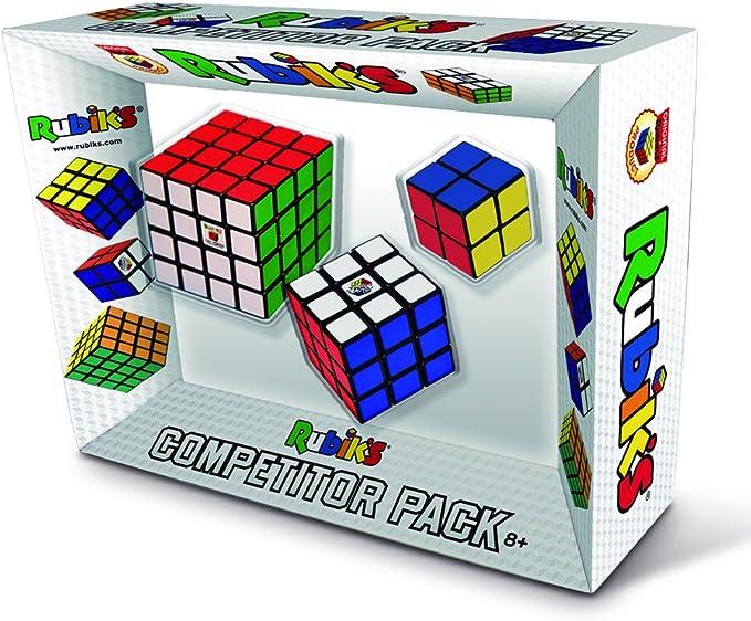 Rubik´s - Pack de cubos Competidor (Goliath 72143006) , color/modelo surtido: Amazon.es: Juguetes y juegos