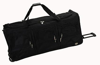 Amazon.com: Rockland Equipaje bolsa de viaje con ruedas ...