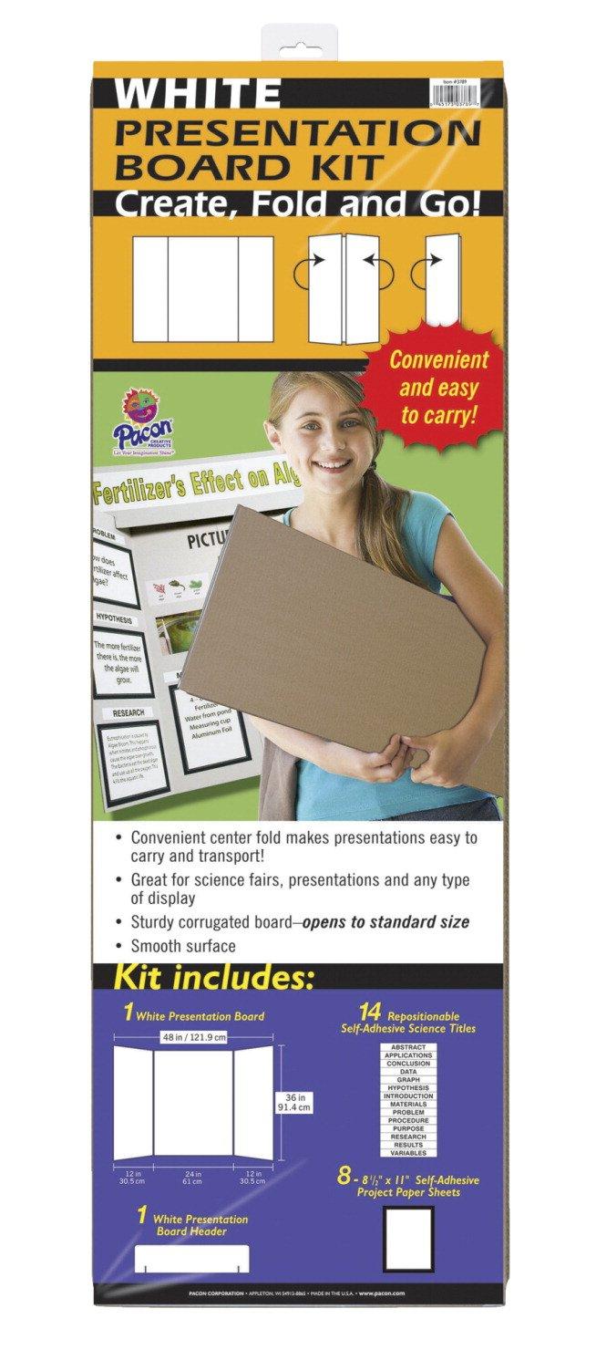 Pacon Presentation Board White (3789)