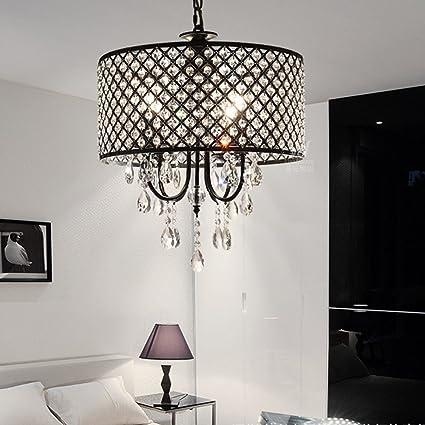 XE Lámparas Modernas con Luces Colgantes De 4 Luces con ...