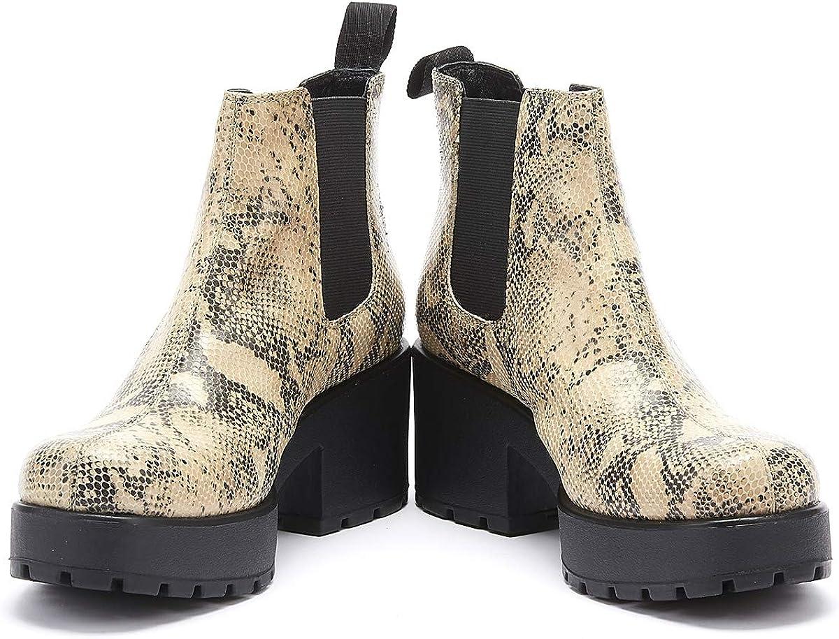 Vagabond Damen Dioon Chelsea Boots Mehrfarbig Sand Black 87
