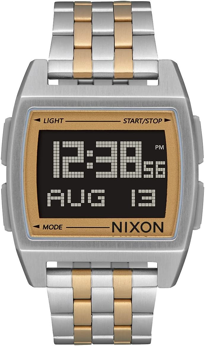 NIXON Base -Spring 2018- Silver/Light Gold