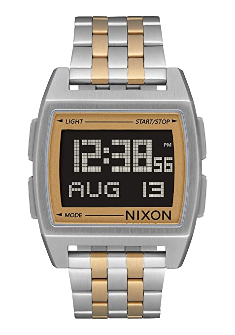 Nixon Reloj Hombre de Digital con Correa en Acero Inoxidable A1107 1431-00