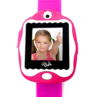 I-SEE Smart Watch for Kids, Kids Camera, Smart Watch for Kids Girls Boys, Games for Kids Ages 4-8, Digital Video Camera Games Watches, Educational Toys Smartwatch, Electronics Gadgets for Kids: Toys & Games