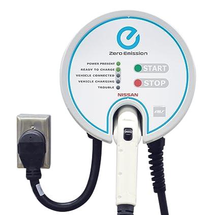 Charming Nissan LEAF EV Charging Station: Plug In, 25u0027 Cable, 30A,