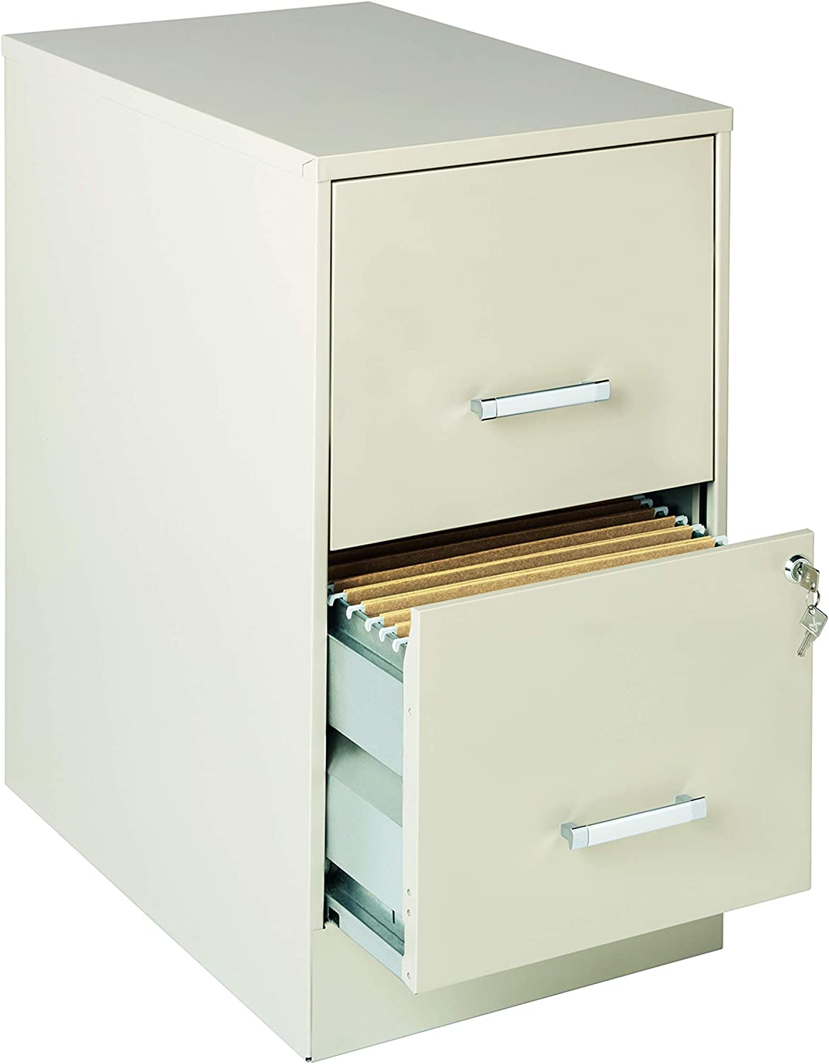 22 Inches 2 Drawer File Cabinet