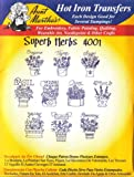 Superb Herbs Aunt Martha's Hot Iron Embroidery Transfer
