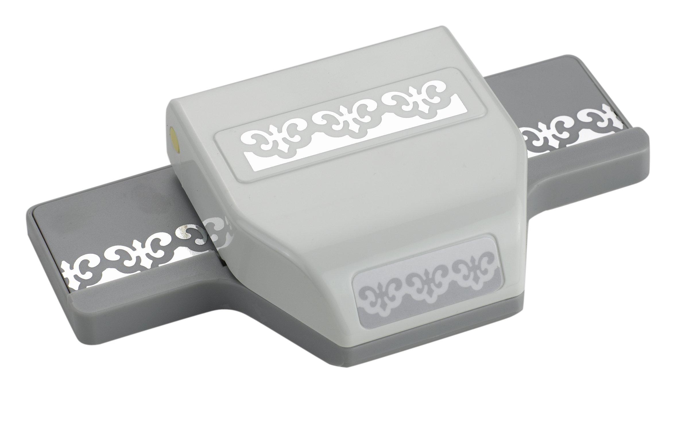 EK Tools Edge Paper Punch, Fleur De Lis, New Package