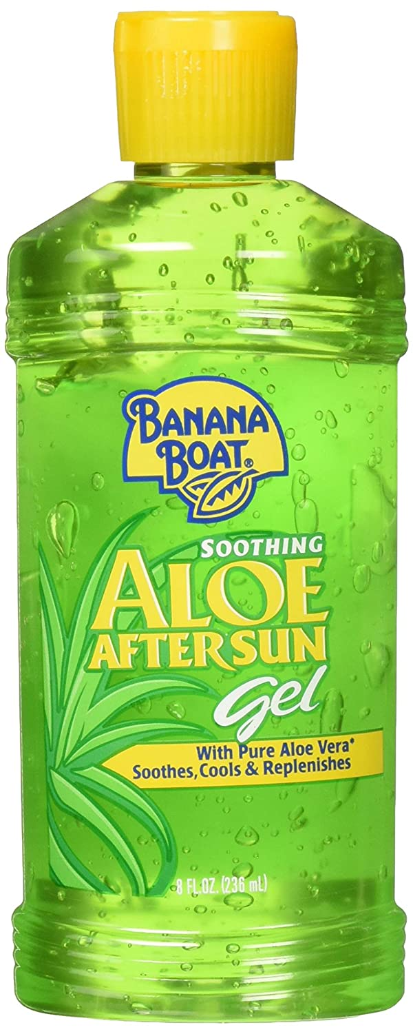 Banana Boat Soothing Aloe After Sun Gel 8 oz (Pack of 2) Sun & Swim