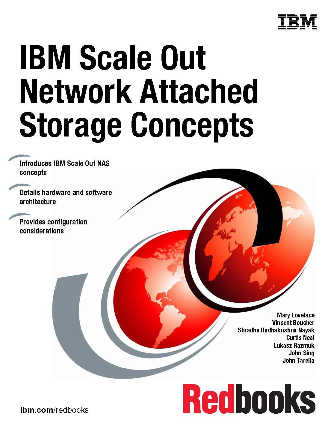 Read Online IBM Scale Out Network Attached Storage Concepts ebook