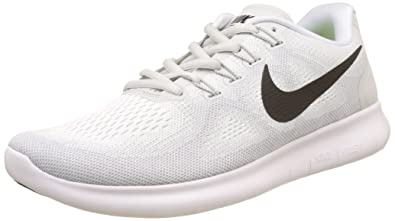 NIKE Free Run 2017, Chaussures de Running Homme, Blanc (White/Black-