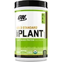 Optimum Nutrition Gold Standard 100% Plant Based Protein Powder, Vitamin C for Immune Support, Chocolate, 1.59 Pound…