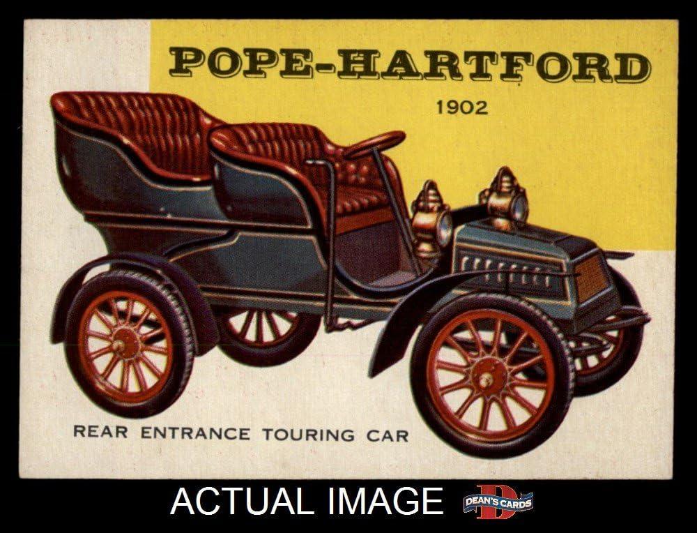 1954 Topps # 154 Pope-Hartford Touring Car (Card) Dean's Cards 7 - NM 71UFu2BJoaSL
