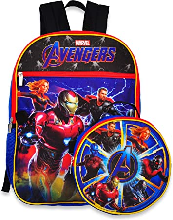 3PC THE FLASH Kids School Backpack Superhero Insulated Lunch Box Pencil Case Lot
