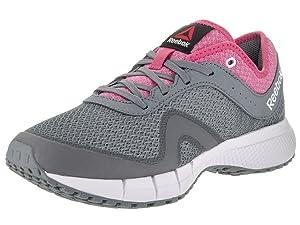 Reebok Women's Dmx Max Supreme Walking Shoe, Asteroid Dust/Pink/White, 8.5 M US