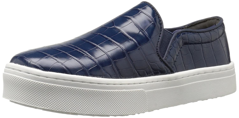Sam Edelman Women's Lacey Fashion Sneaker B01N1F8NQ0 9.5 M US|Inky Blue Crocodile