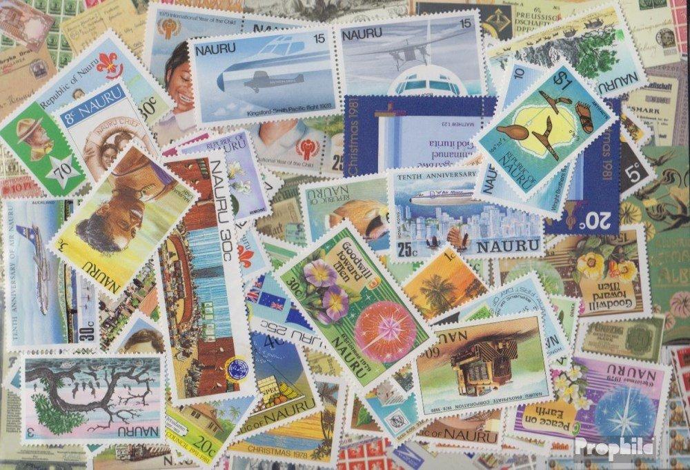 Prophila Collection Nauru 300 Diferentes Sellos (Sellos para los coleccionistas)