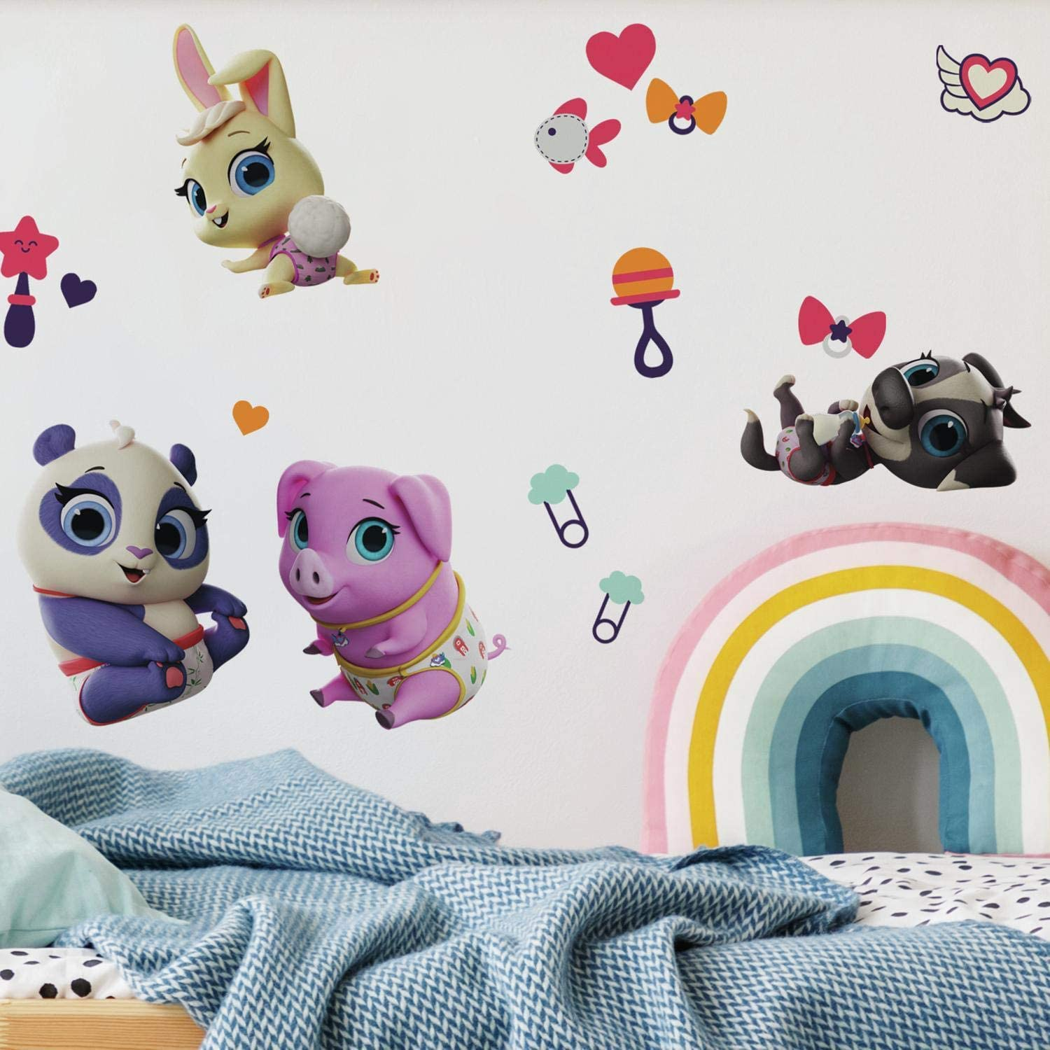 RoomMates Disney Junior T.O.T.S. Peel and Stick Wall Decals