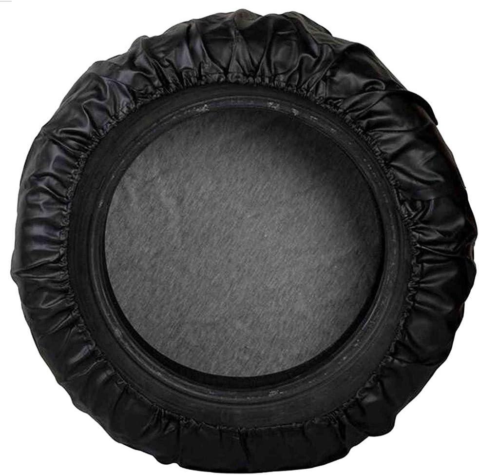 Truck Wheel fit Entire Wheel 26.75-29.75 Trailer Black SUV RV CAREMO Universal Spare Tire Cover for Jeep