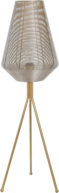 """Sagebrook Home 50545-01 Metal 41"""" Floor Lamp, Gold"""