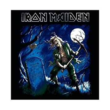 Amazon Iron Maiden Greeting Birthday Any Occasion Card