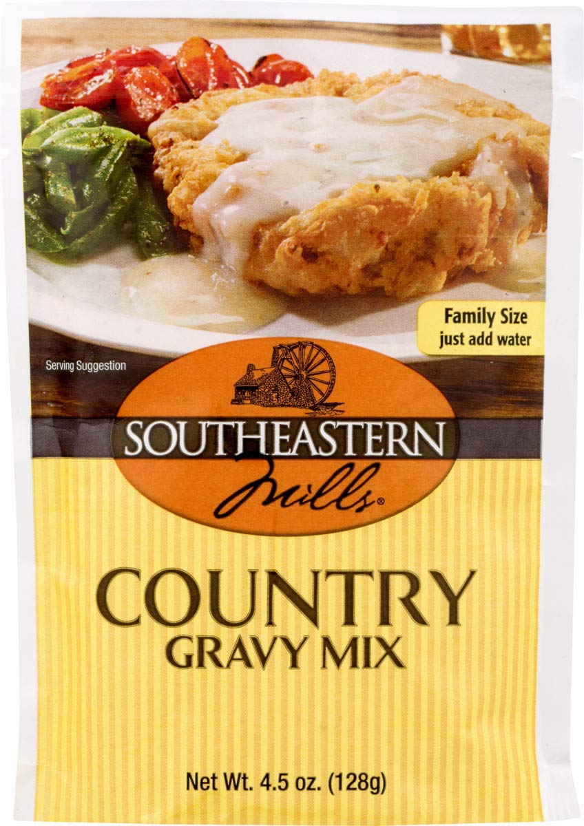 Southeastern Mills Country Gravy Mix 4.5 oz. Packets (3 Pack) by Southeastern Mills