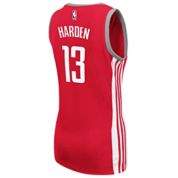 Adidas James Harden Houston Rockets NBA Rojo Oficial Equipo Color Carretera Away réplica de la Camiseta para Mujer, L, Rojo: Amazon.es: Deportes y aire ...