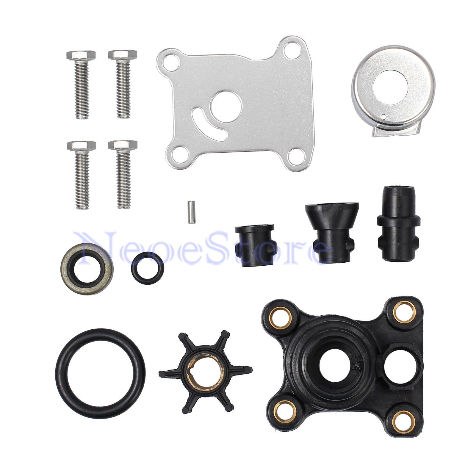 Water Pump Impeller Repair Kit 9.9hp & 15hp for Johnson/Evinrude 394711 0394711